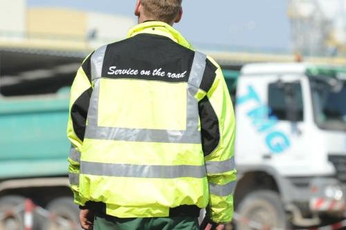 KW-Fahrer für den Baustellen- und Schüttgutbereich